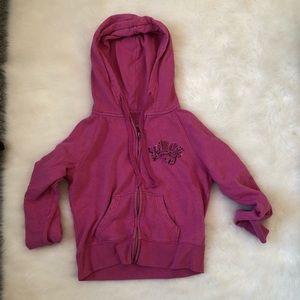 Victoria pink line hoodie